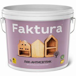 Лак-антисептик Faktura