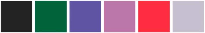 Палитра цветов Грифельной краски Primacol